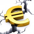 Financial crisis in European Union - Stock Photo