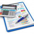 Business finance and accounting concept — Stock Photo #22346677