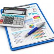 Stock fotografie: Business finance and accounting concept