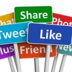 Social media concept — Stock Photo #22346685
