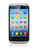 Smartphone con pantalla táctil moderno — Foto de Stock
