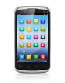 Smartphone touchscreen moderno — Foto Stock