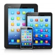 Stock Photo: Mobile devices
