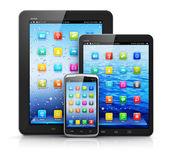 Mobiele apparaten — Stockfoto