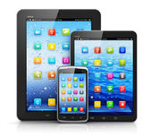 Mobile devices — Foto Stock