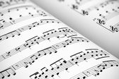 Sheet music — Stock fotografie