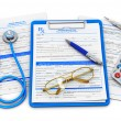 Medical insurance and healthcare concept — Stock Photo