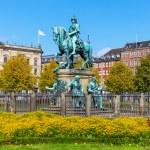 Christian V statue in Copenhagen, Denmark — Stock Photo #23913613
