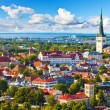 Aerial panorama of Tallinn, Estonia — Stock Photo #23913623