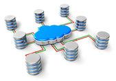 Le cloud computing concept — Photo