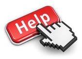 Help and assistance concept — Stock Photo