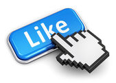 Social media concept — Foto Stock