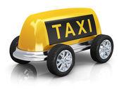 Taxi concept — Stock Photo