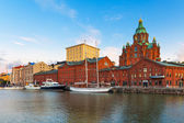 Old Town in Helsinki, Finland — Stock Photo