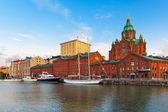 Oude stad in helsinki, finland — Stockfoto