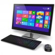 computer desktop con interfaccia touchscreen — Foto Stock