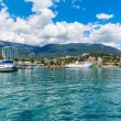 Stock Photo: Panoramof Yalta, Crimea, Ukraine
