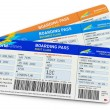 Air tickets — Stock Photo