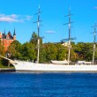 Historical ship ''AF Chapman'' in Stockholm, Sweden — Stok fotoğraf