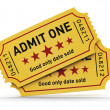 Cinema tickets — Stock Photo #29395663