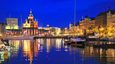 The Old Port in Helsinki, Finland — Stockvideo