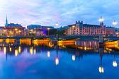 The Vasa Bridge in Stockholm, Sweden — Stock Photo