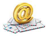 E-mail concept — Stock Photo