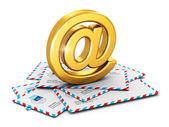 电子邮件概念 — 图库照片