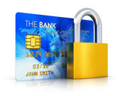Banking security concept — Stockfoto