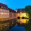 Evening scenery of Nuremberg, Germany — Stockfoto