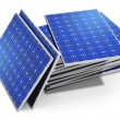 zonnepanelen — Stockfoto
