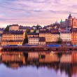 Evening scenery of Stockholm, Sweden — Stock Photo #32145579