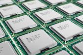Modern processors — Stock Photo