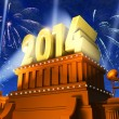 New Year 2014 concept — Stock Photo