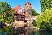 Nuremberg, Almanya eski şehir — Stok fotoğraf