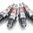 Set of sparkplugs — Foto de Stock