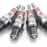 Set of sparkplugs — Stock Photo #33098309