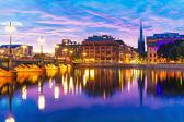 Sunset in Stockholm, Sweden — Stock Photo