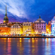 Christmas and New Year in Stockholm, Sweden — Stock Photo