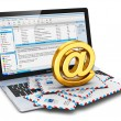 E-mail concept — Stock Photo #34100577
