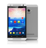 Modern touchscreen smartphone — Stock Photo