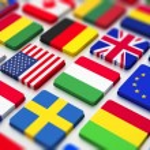 Flags keyboard — Stock Photo #34608059