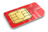 SIM card — Stock Photo