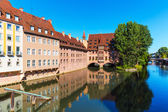 Scenery of Nuremberg, Germany — Stock Photo