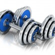 Dumbbells — Foto Stock #34887457
