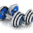 Dumbbells — Stock Photo #34887457