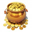 Pot of gold — Stock Photo #35732427