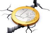Crisis in European Union concept — Stock Photo