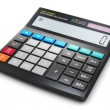 Office electronic calculator — Stock Photo