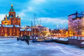 Winter in Helsinki, Finland — Stock Photo